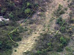 The Nash County Sheriff's Office say two sets of skeletal remains were found in a field just north of Red Oak off North Carolina Highway 43 on Sept. 7, 2010.
