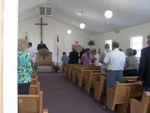 Chatham County church rebuilds after vandalism