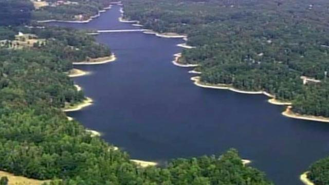 Lake Michie, one of Durham's primary sources of drinking water, was 3 feet below normal levels on Sept. 24, 2010.