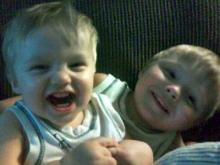 Kayden Shambach, 3, (right) and 20-month-old Chase Shambach (left) were killed in a house fire on Fayetteville Road on Oct. 11, 2010. (Photo courtesy of Myspace)