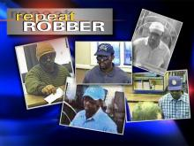 """A look at the """"Repeat Robber"""" through surveillance images."""