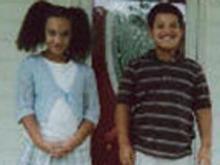 Alyssa and Alex Allen, 7-year-old twins