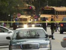 Elementary school copes with fatal wreck