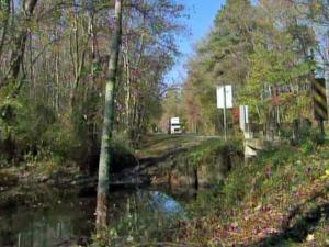 State troopers said that a young girl died when a car overturned in a swampy area along Brassfield Road, near Lawrence Road, east of Creedmoor, on Friday, Nov. 5, 2010.
