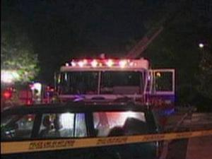 Emergency crews battled a fire at a Raleigh apartment's clubhouse at 6317 Shanda Drive on Nov. 9, 2010.