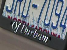 License plate cover? Drivers could face fine