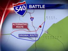 Possible 540 expansion route sparks concern at Raleigh church