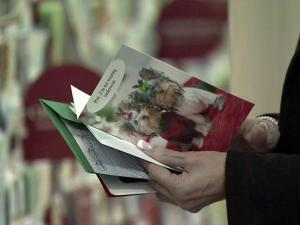 Marketing experts say that social networking sites like Facebook are replacing the need to send holiday cards.
