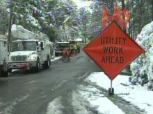 Snow knocks out power for thousands