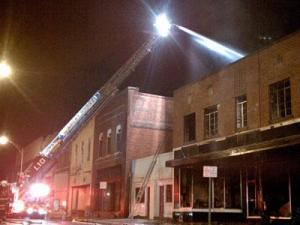 The fire at Bob's Appliance Services, 122 Howard St. in Rocky Mount, was reported on Dec. 30, 2010.