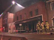 Rocky Mount business burns down