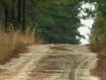 The All-American Trail follows the boundary of Fort Bragg.