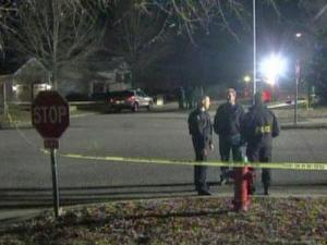 Police said a group of young people were walking along Laurens Way in Knightdale when a shooter opened fire on them, hitting one man in the head on Jan. 5, 2010.