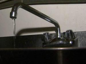 Faucet generic, boil water advisory