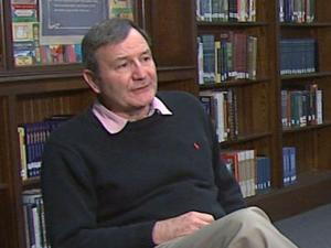 U.S. Ambassador to Afghanistan Karl Eikenberry visited his alma mater Saturday and discussed diplomacy efforts in Afghanistan, where more than 100,000 U.S. troops are currently deployed. Eikenberry said he was sent to Kabul to try to rebuild the country and empower its leaders.