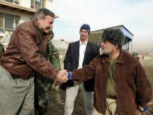 Top U.S. diplomat in Afghanistan visits his Goldsboro alma mater