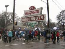 Thousands compete in Krispy Kreme challenge