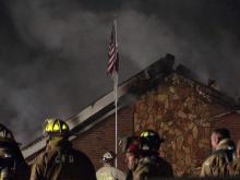 Twice-burned Clayton church rebuilds