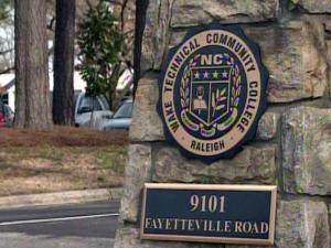 Two women informed campus security that an unidentified man approached them in the parking lot of Wake Tech's main campus on U.S. Highway 401 south of Raleigh in recent days and offered them large sums of money to perform sex acts. The man told the women that the request is part of a fraternity pledge, college officials said.