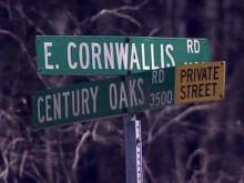 Cornwallis Road at Century Oaks Road in Durham