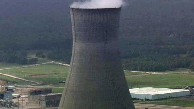 The Shearon Harris Nuclear Plant in southwestern Wake County