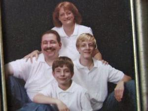 Robin Blaisdell, her husband, Dean, and their sons Brandon, 15, and Andrew, 10, are in Japan.