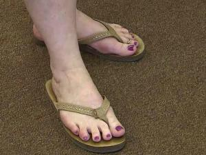 No flip-flops are banned under a new dress code for city of Oxford employees.
