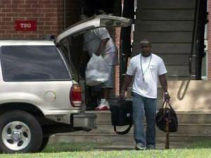 Wake County officials moved 86 tornado victims from temporary housing at N.C. State University on May 6, 2011, to more permanent homes.