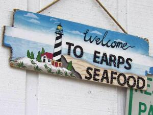 Earp's Seafood Market on South Saunders Street in Raleigh