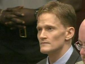 Jason Young, accused of first-degree murder in his wife's Nov. 3, 2006, beating death, appears in a Wake County courtroom Thursday, May 19, 2011. Young, 37, is set to go to trial May 31.