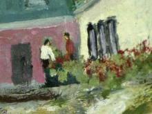 Painting survives tornado, seeks owner