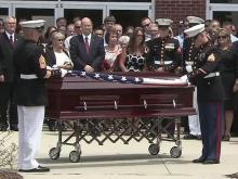 Fallen Clayton Marine saluted, remembered as friend