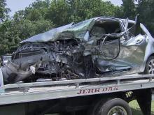 Fiery wreck kills two in Wayne County