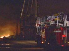 Fire claims Halifax Co. fertilizer plant