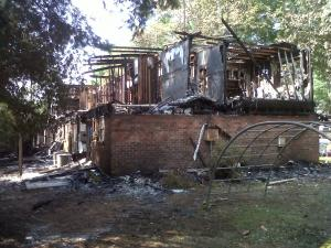 Fire broke out at Raleigh apartment complex Gorman Crossing on Tuesday, July 20, 2011, displacing 20 residents.