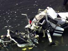 Plane crashes in Cape Fear River near Harnett airport
