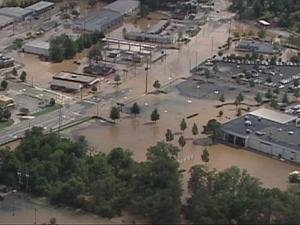 Hurricanes can cause flooding even in inland North Carolina.