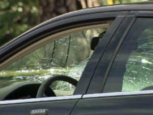 A vehicle struck and killed a Raleigh man walking across the intersection of Falls of Neuse and Sandy Forks roads Wednesday, Sept. 7, 2011, according to police.