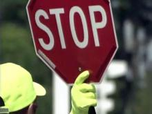 Injury doesn't make crossing guard afraid to stop traffic