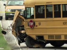 School bus wreck kills one