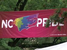Gay pride events draws marriage amendment opponents, supporters