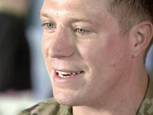 Army 1st Lt. Alex Sharkey