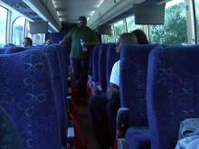 Safety sweep strands bus passengers in Raleigh