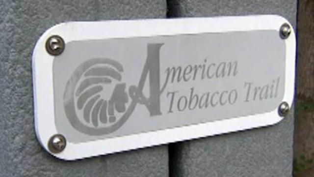 The American Tobacco Trail in Durham is popular with joggers, bicyclists and families.