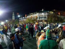 Franklin Street Halloween
