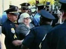 Occupy Raleigh arrest