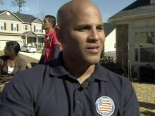 Wounded Marine and family get new home