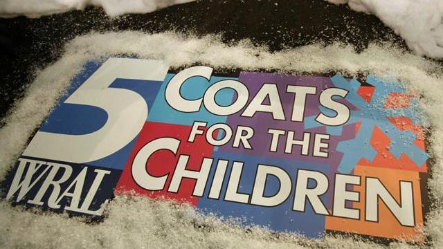 WRAL held a telethon on Dec. 9, 2011, to encourage people to donate to the Salvation Army's Coats for the Children campaign.