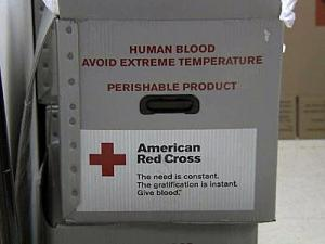Red Cross blood supply critical
