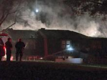 Fire strikes Raleigh townhouses
